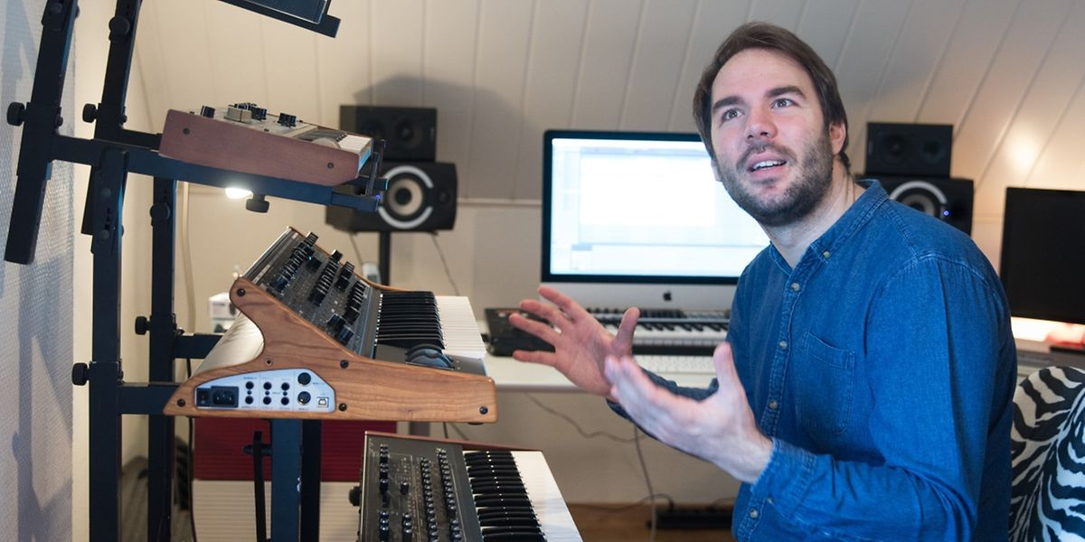 Jérôme Klein darf als Artist in Residence des diesjährigen Like a Jazz Machine Festivals seine Musik vorstellen.