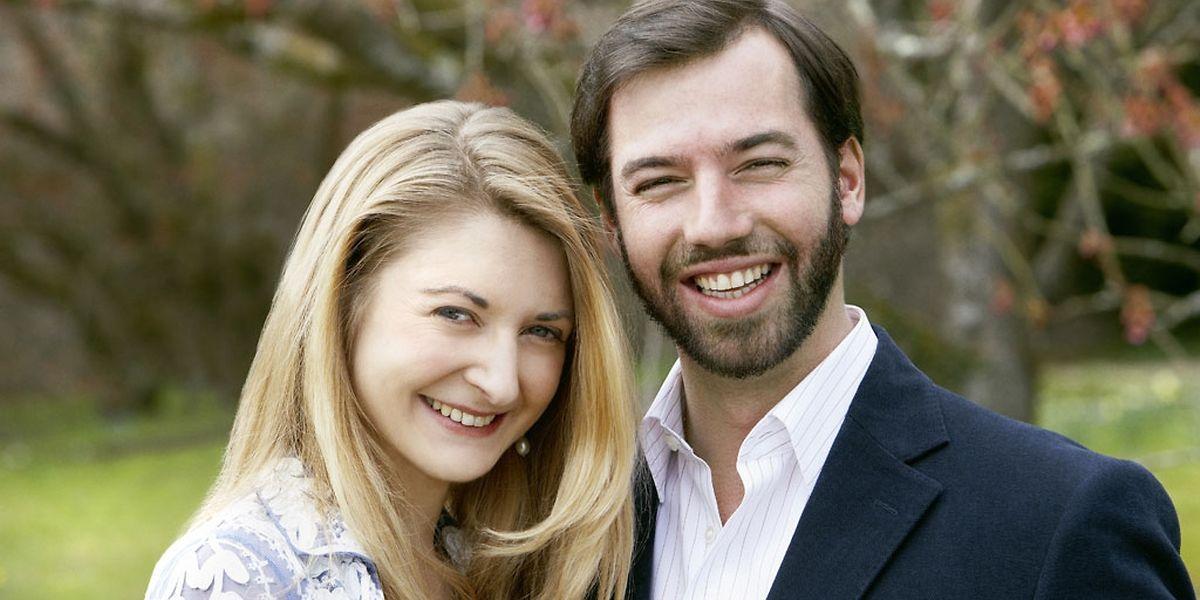 Kündigen ihre Verlobung an: Erbgroßherzog Guillaume und Stéphanie de Lannoy.