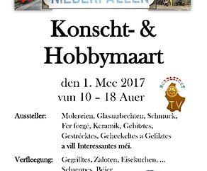 Konscht- & Hobbymaart zu Nidderpallen 2017