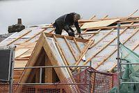 Lokales, Petingen, Einen Monat nach dem Tornado, Rue Neuve, Foto: Guy Wolff/Luxemburger Wort