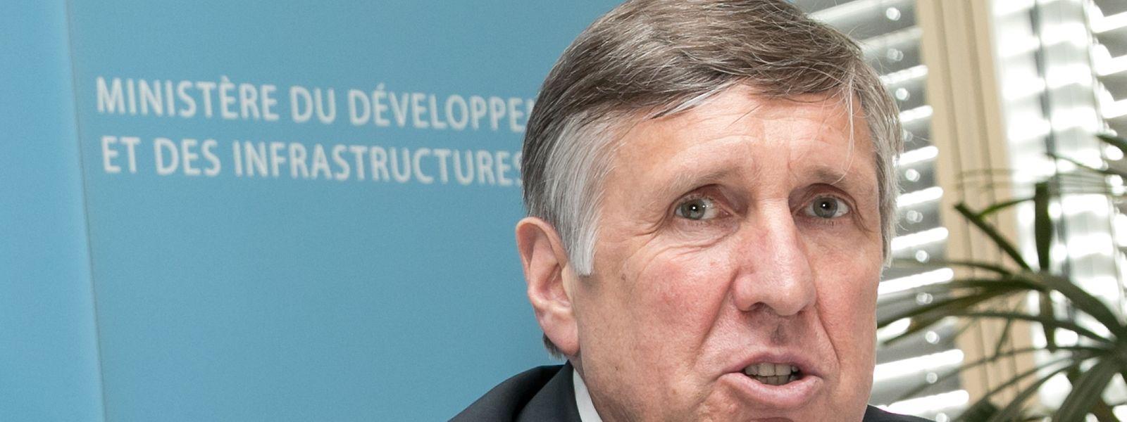 Minister François Bausch: neues Programme directeur der Landesplanung bis 2019.