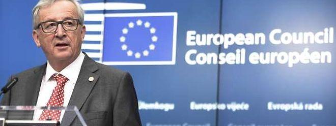 EU-Präsident Juncker zeigte sich enttäuscht über das Verhalten der Mitgliedsländer in Sachen Flüchtlinge.