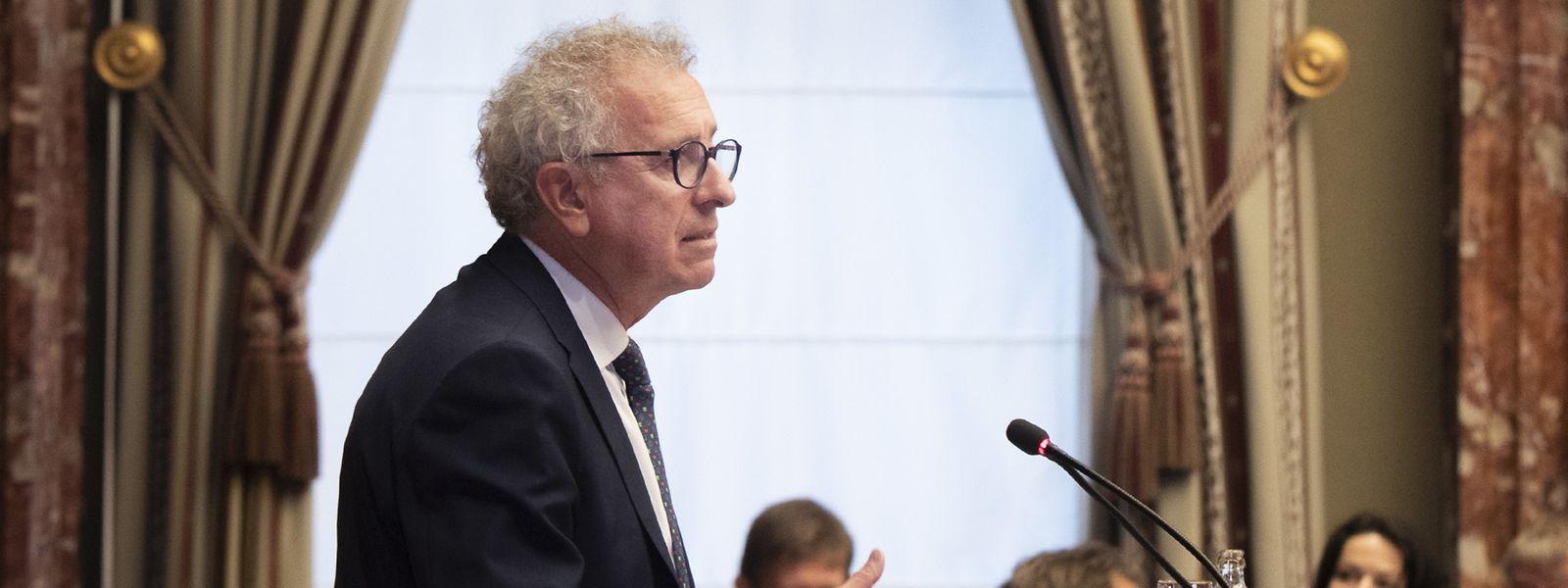 Pour Pierre Gramegna, le projet de loi de budget 2022 met notamment l'accent sur le volet social, qui représente «47% des dépenses prévues».