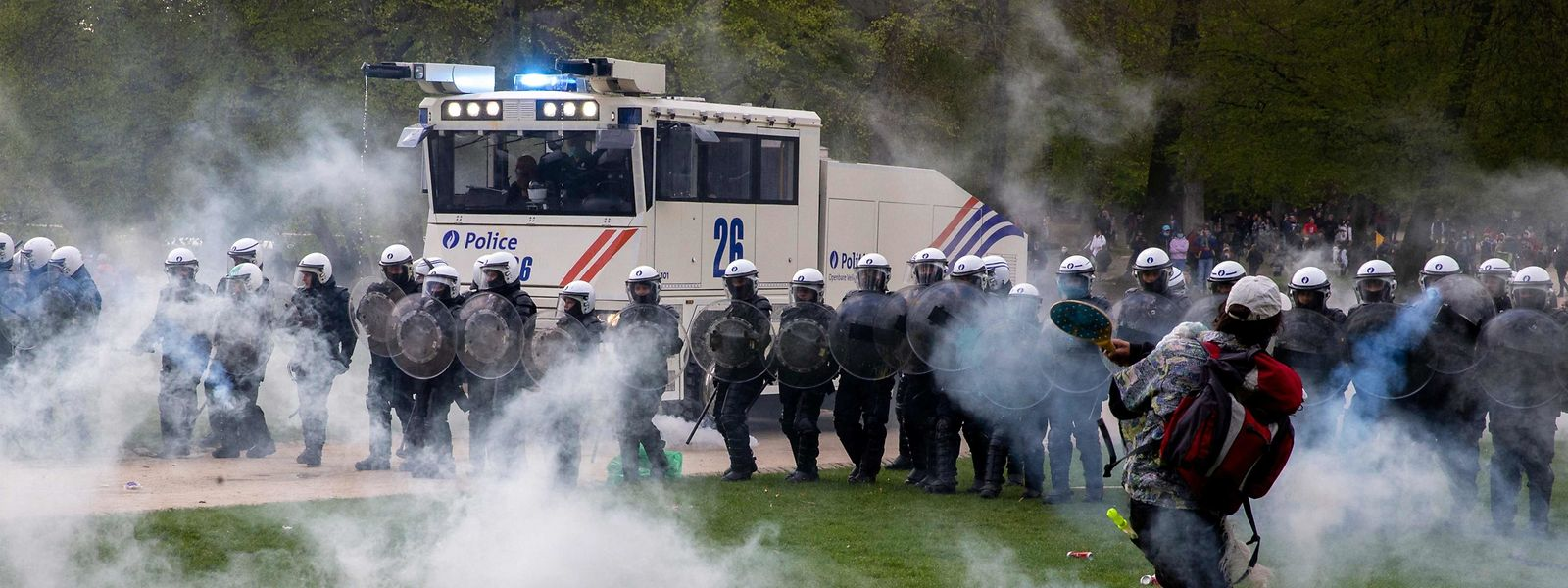 """Après un 1er mai """"tourmenté"""" et différents mouvements de protestation, la coalition Vivaldi veut apaiser les tensions sociales."""