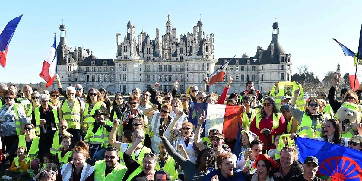 Priscillia Ludosky, une des figures du mouvement, avait choisi Chambord pour manifester et le pique-nique géant organisé devant le château: un pied de nez à Emmanuel Macron qui y avait fêté ses 40 ans fin décembre 2017.