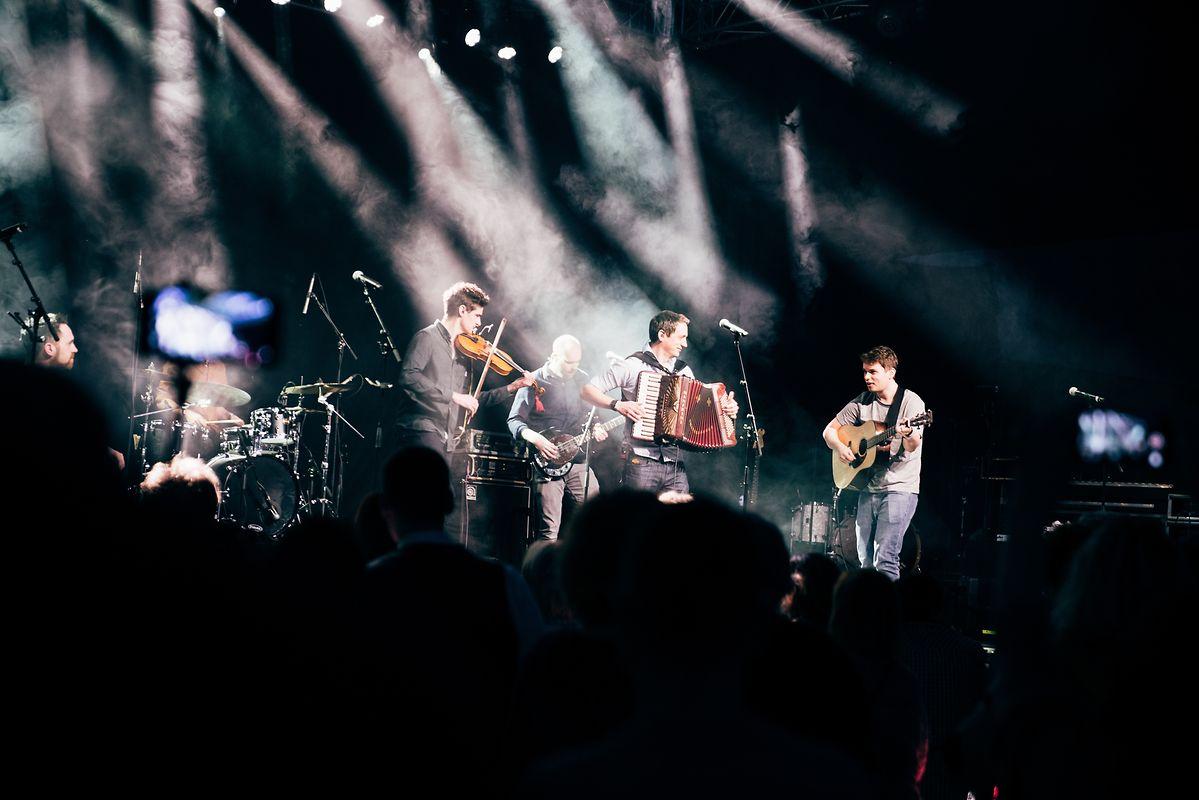 Mànran beim Zeltik-Festival.