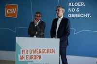Politik, CSV Verfassungsreform, Léon Gloden, Guy Engel   Foto: Anouk Antony/Luxemburger Wort