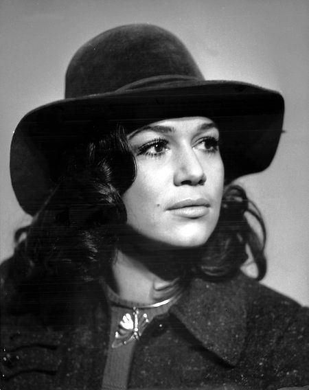 Die 28-jährige Hannelore Elsner im Jahr 1970.