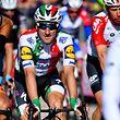Elia Viviani a signé sa deuxième victoire de rang sur les routes du Tour de Suisse.