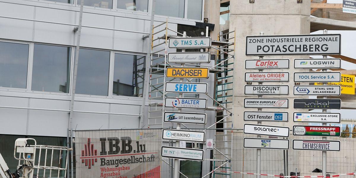 Zu viele Betriebe und Anfragen: Die regionale Industriezone in Potaschberg nahe Grevenmacher platzt aus allen Nähten.