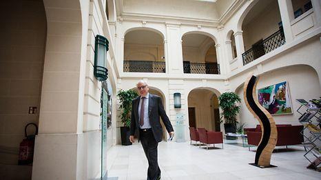 Conf de presse sur les projets du ministère de la Culture -  Guy Arendt - Photo : Pierre Matgé