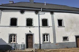 Sauvegarde du Patrimoine Protest Abriss Haus Bauernhaus Heinerscheid