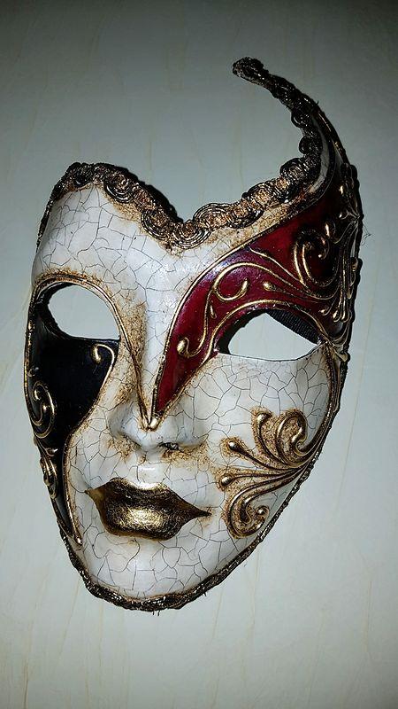 Un masque du carnaval de Venise