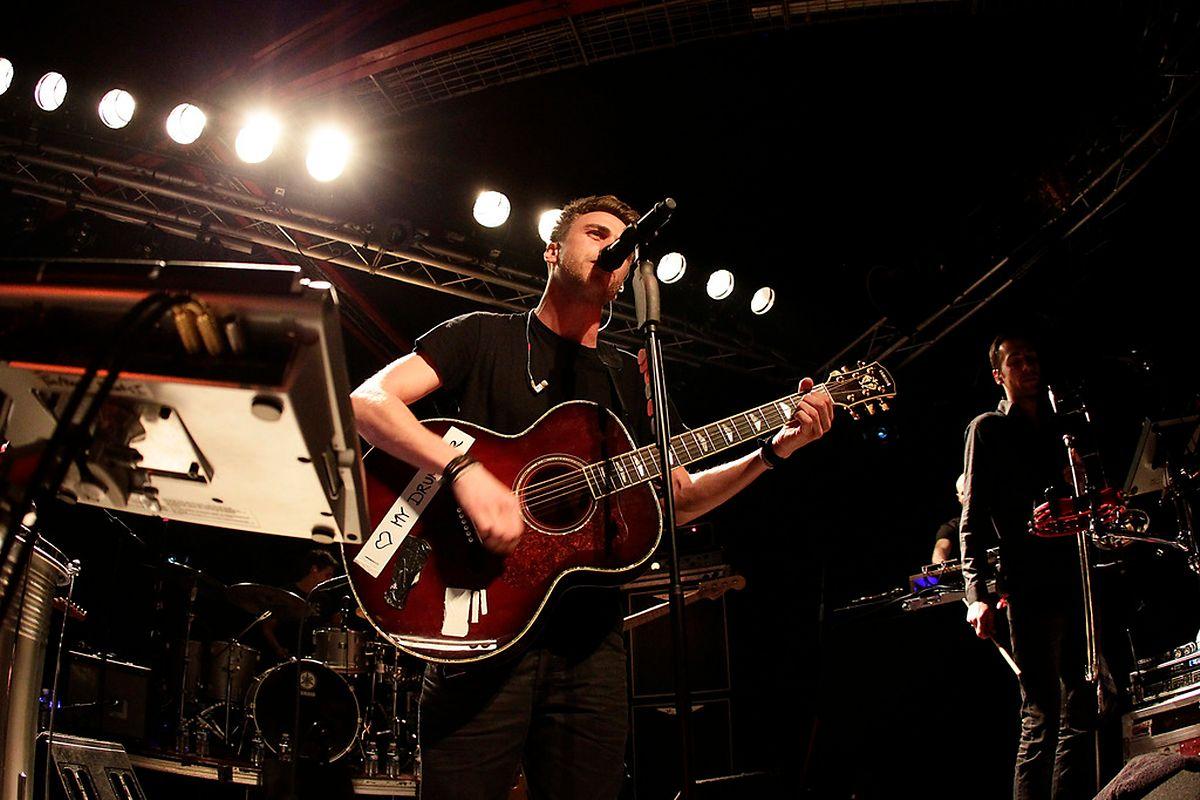 Clueso live im Hollericher Atelier 2011
