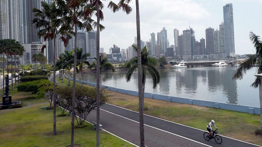 View in Panama