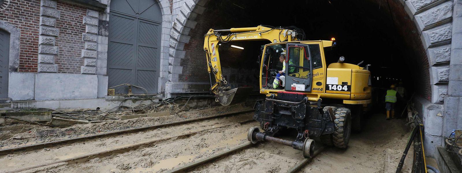 Les 214 km de liaison entre la capitale belge et sa voisine luxembourgeoise doivent faire l'objet d'importants travaux.