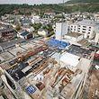 Visite de chantier nouvelle brasserie Diekirch . Photo : Pierre Matgé
