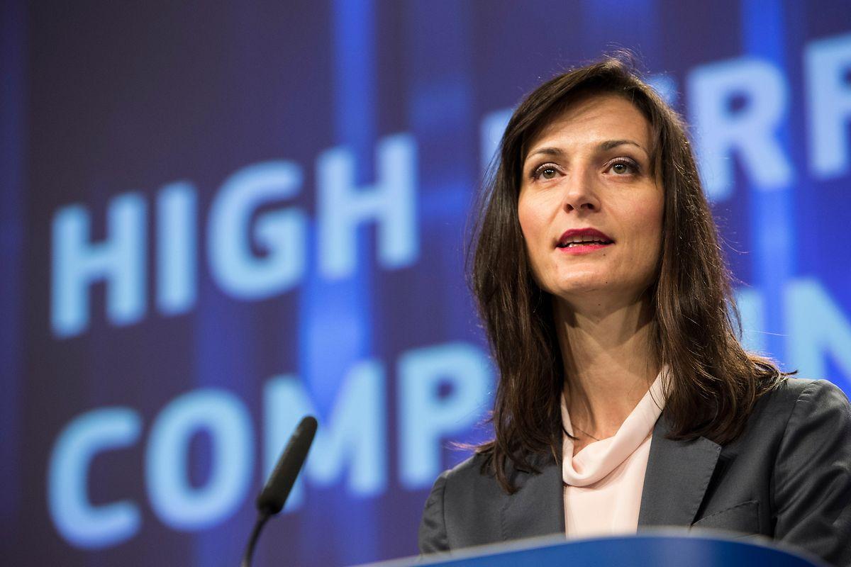 La Commissaire Mariya Gabriel annonce le programme de financement.