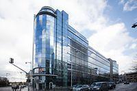 Das Verwaltungsgebäude des Konzerns in der Hauptstadt.