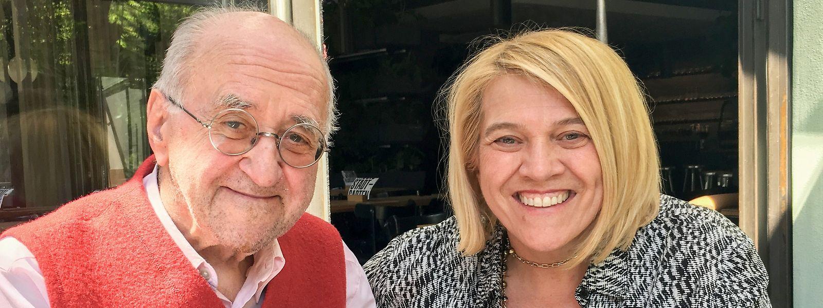 Madeleines persönlich geliefert: Léa Linster besucht ihren langjährigen Weggefährten regelmäßig in seiner Wahlheimat Köln.