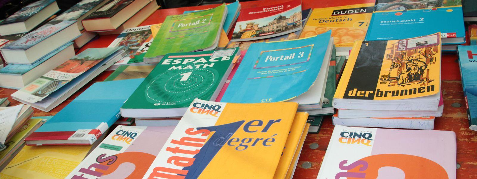 Le virus ayant eu raison de la tenue de beaucoup de Bichermaart, la réservation des ouvrages scolaires a bien fonctionné via Mybooks.lu avant la rentrée.