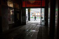 Lok , Unsicherheitsgefühl Gare und Bonneweg , Avenue de la Gare/Place de la Gare Foto:Guy Jallay/Luxemburger Wort