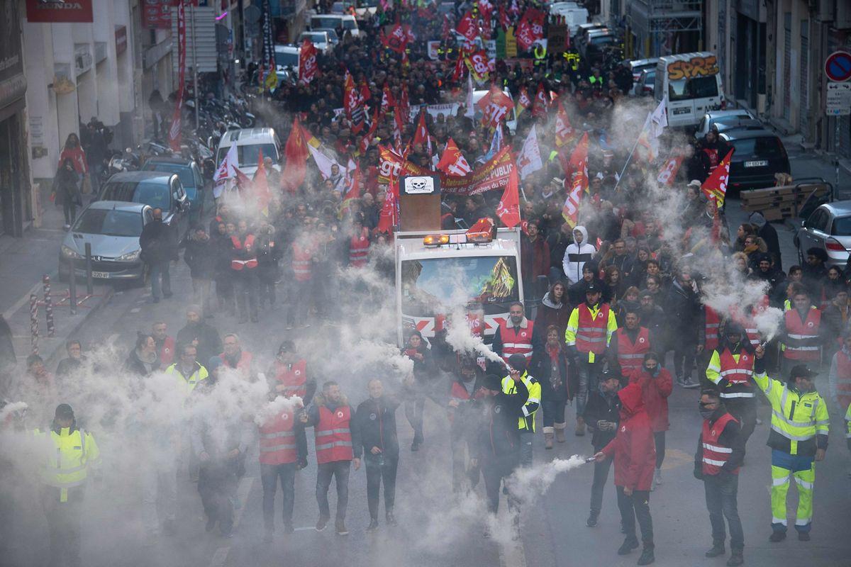 Les syndicats veulent montrer qu'ils peuvent mobiliser davantage que le 12 décembre.