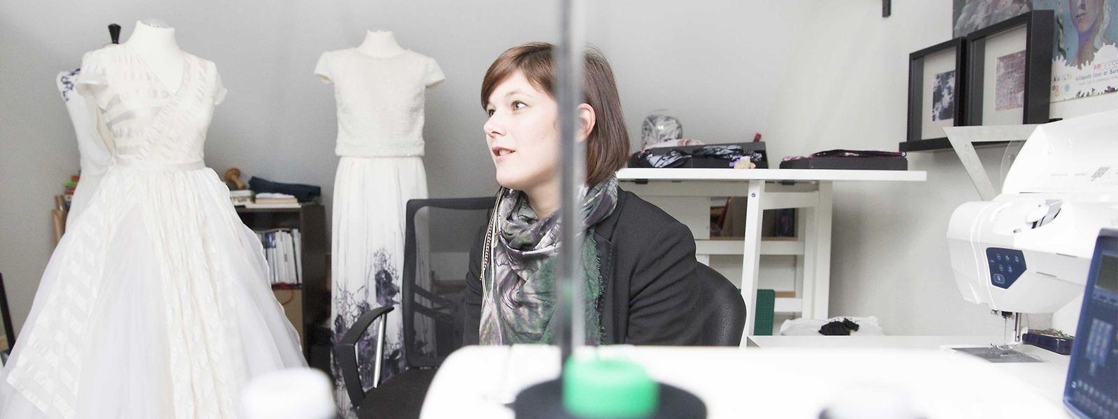 Nathalie Siebenaler legt Wert auf Individualität und Wandelbarkeit.