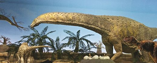 Se gosta de dinossauros tem de visitar este local