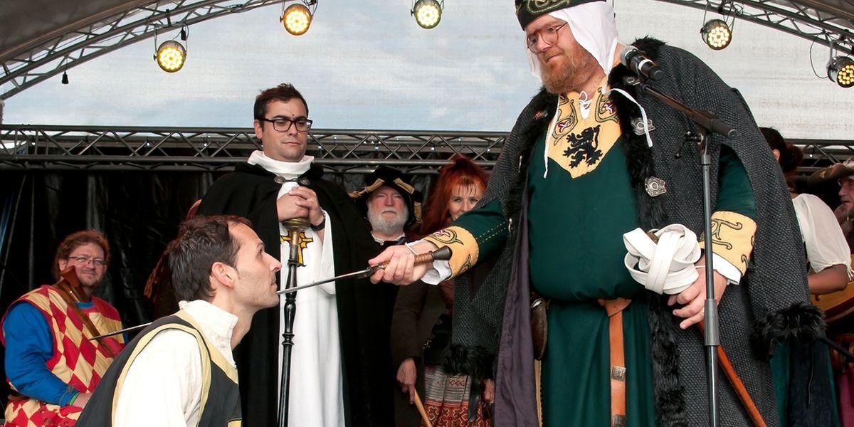 Der Düdelinger Bürgermeister Dan Biancalana wurde in diesem Jahr zum Ritter geschlagen.