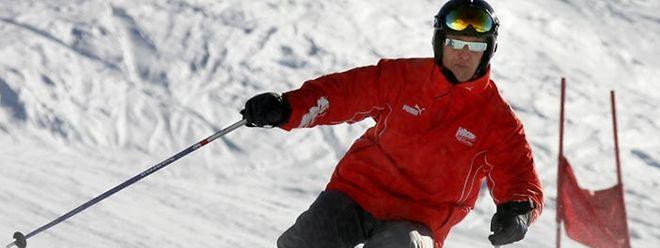 Michael Schumacher musste mit dem Hubschrauber ins Krankenhaus gebracht werden.