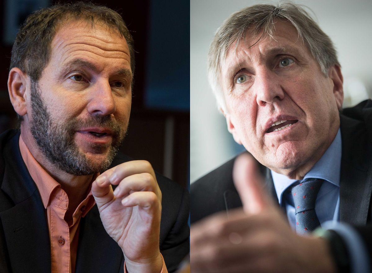 Der Streit zwischen Jean-Marie Wirth (l.) und François Bausch (r.) ging am Ende nur noch um die Genehmigungsprozedur