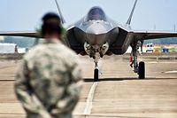 In den USA müssen alle F-35-Kampfjets vorläufig am Boden bleiben.