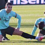 Fotos. Seleção portuguesa já treinou no Luxemburgo