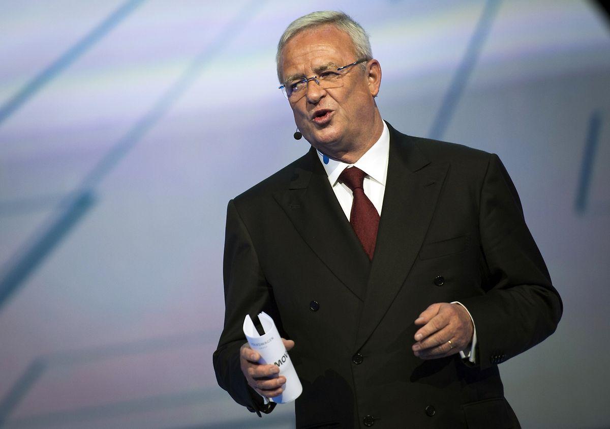 Volkswagen-Chef Martin Winterkorn verlor in diesem Jahr sein Amt.