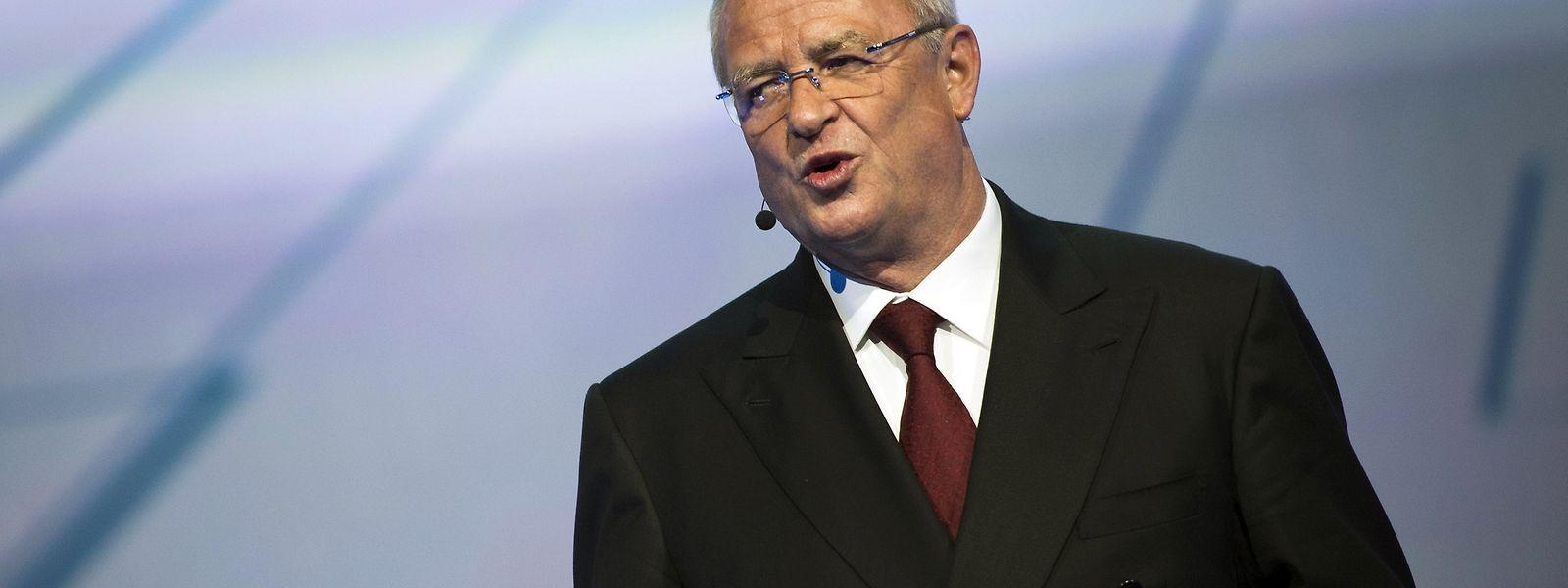 """Volkswagen-Chef Martin Winterkorn wollte """"Volkswagen ein Stück weit neu erfinden""""."""