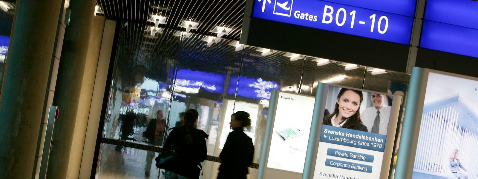 Das Terminal B, das für die Abfertigung kleinerer Flugzeuge bestimmt ist, wird seit Jahren nicht mehr genutzt.