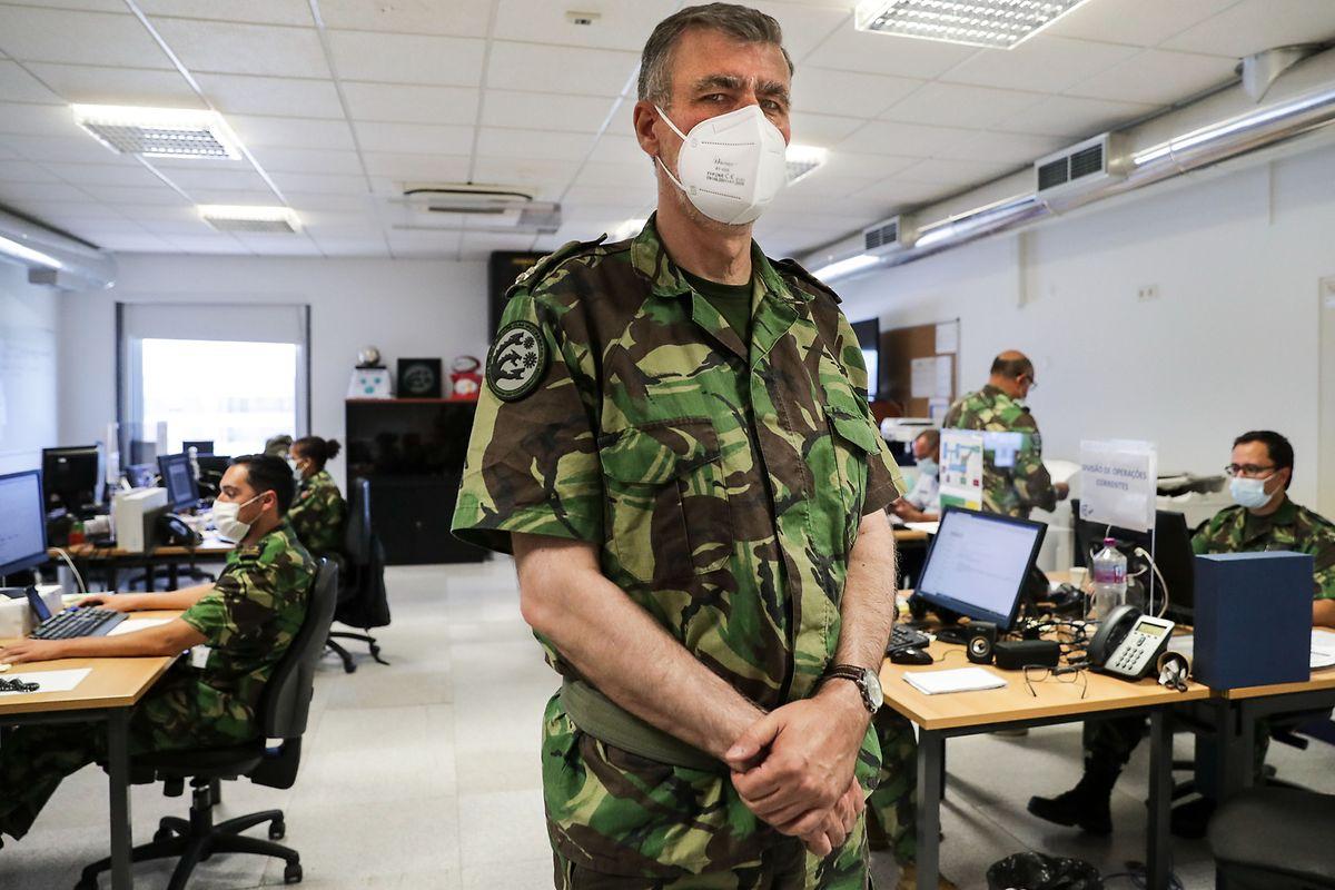 O vice-almirante Gouveia e Melo - que liderou a task force da vacinação em Portugal