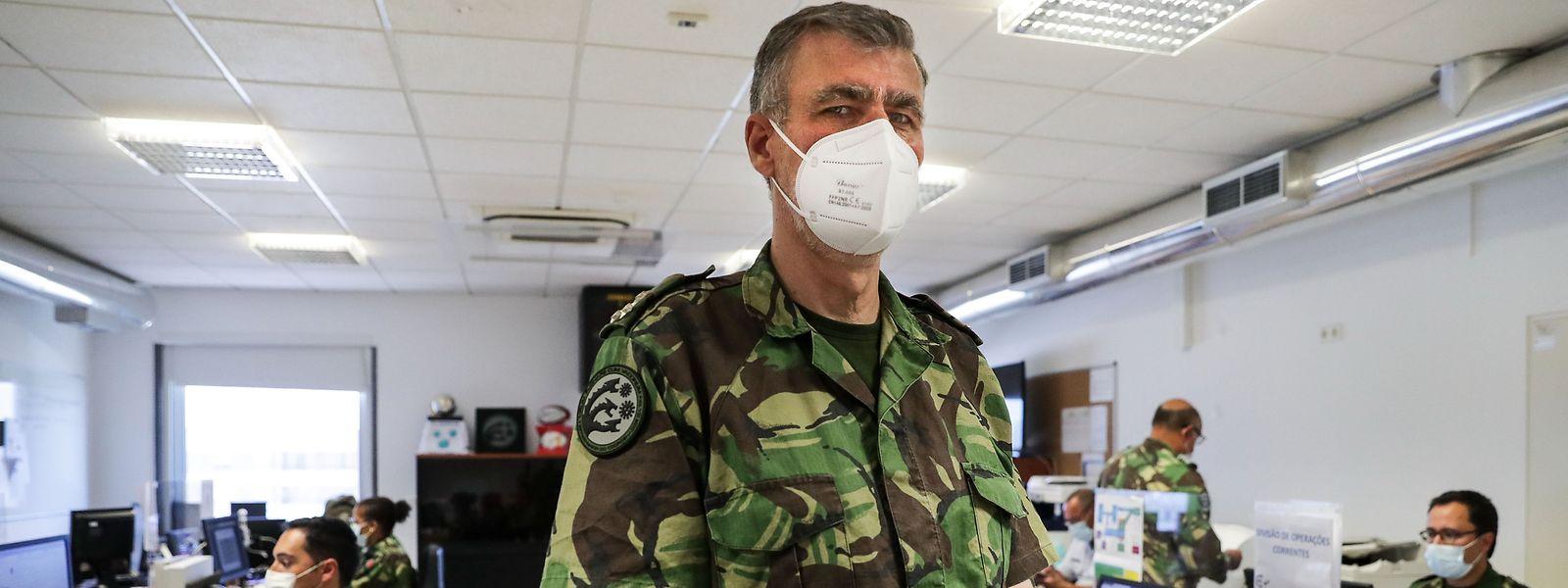 O vice-almirante Gouveia e Melo - que liderou a task force da vacinação em Portugal - está no centro de uma das polémicas recentes da política portuguesa.