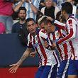 Auteur d'un doublé face à Malaga, Antoine Griezmann est l'attaquant en forme de l'Atlético.