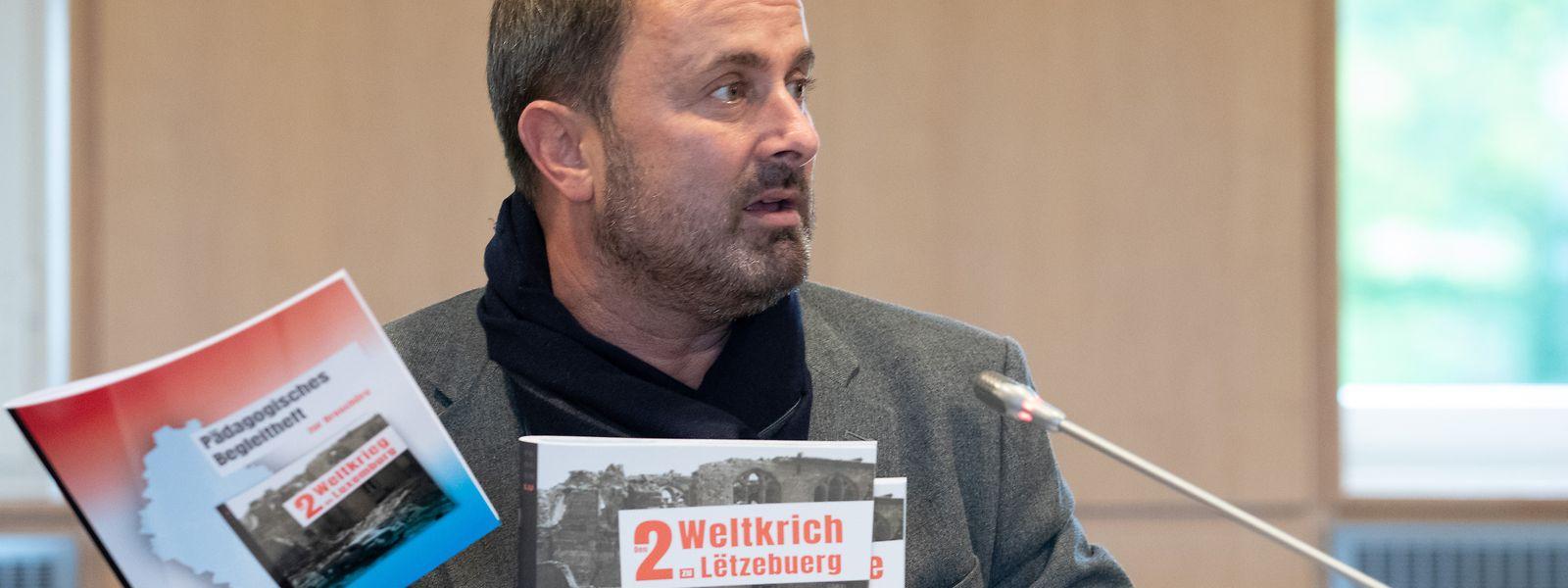 Premierminister Xavier Bettel stieß das Projekt an und finanzierte es über das Staatsministerium.