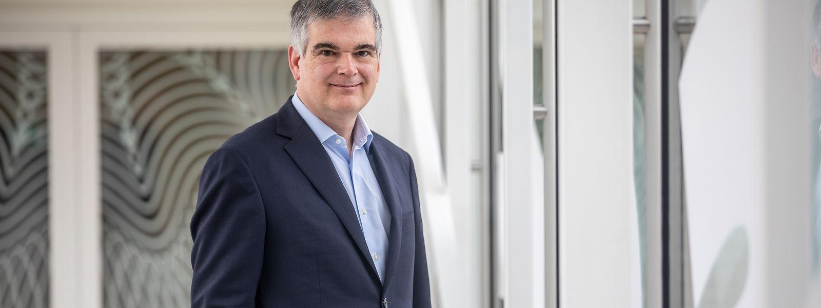 """Claude Marx leitet die Luxemburger Finanzaufsichtsbehörde CSSF seit 2016: """"Die Eigenkapitalquote der Luxemburger Banken ist immer noch sehr hoch."""""""