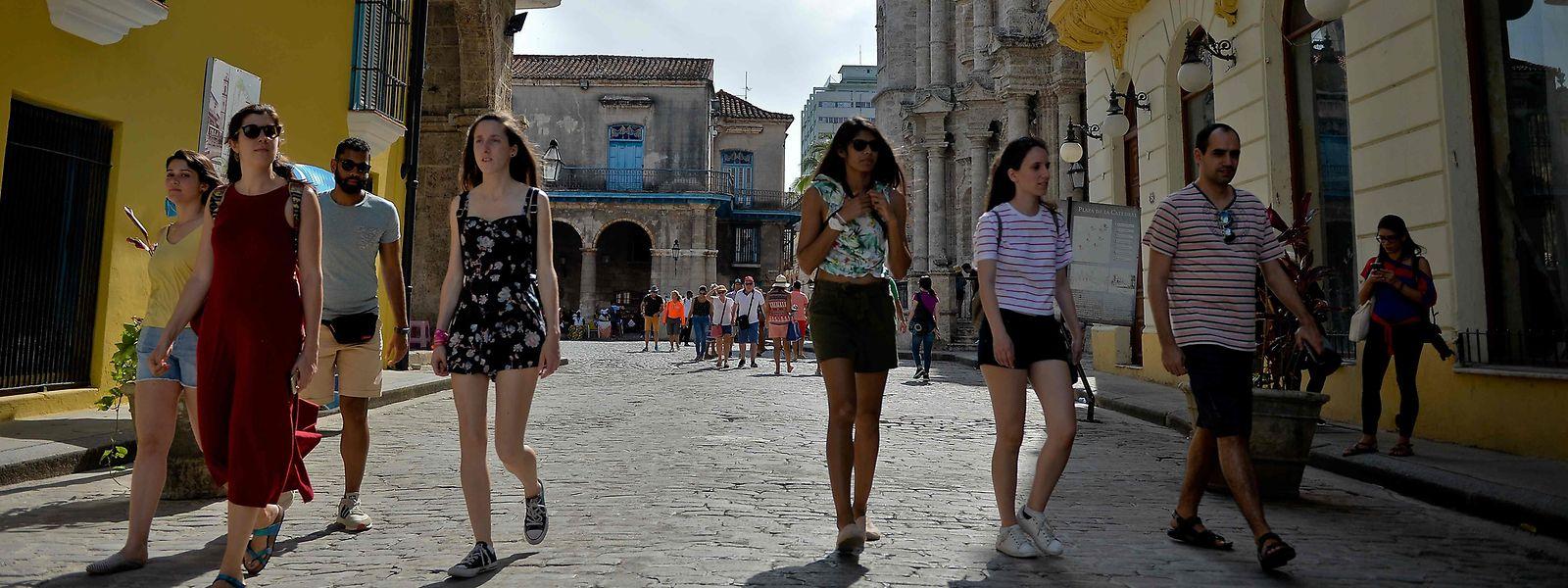 Unter Trump haben sich die Beziehungen zwischen den Vereinigten Staaten und Kuba abrupt wieder verschlechtert.