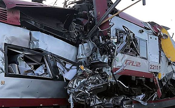 One dead, several injured after two trains crash in Luxembourg