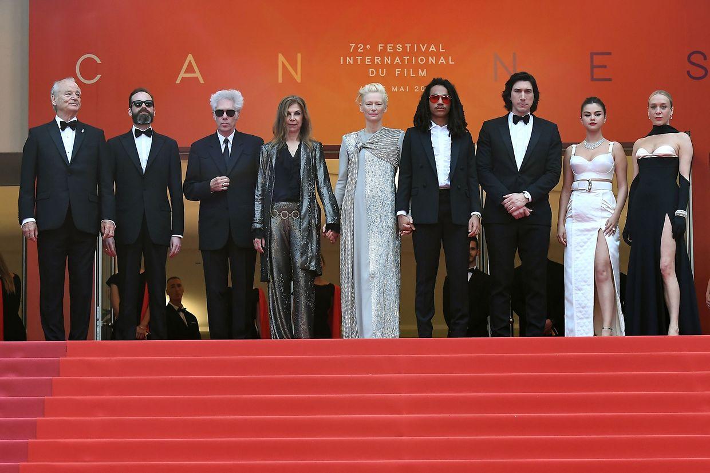 """Ihr Film hat die Filmfestspiele eröffnet. Die Schauspieler der Zombie-Komödie """"The Dead Don't Die""""."""