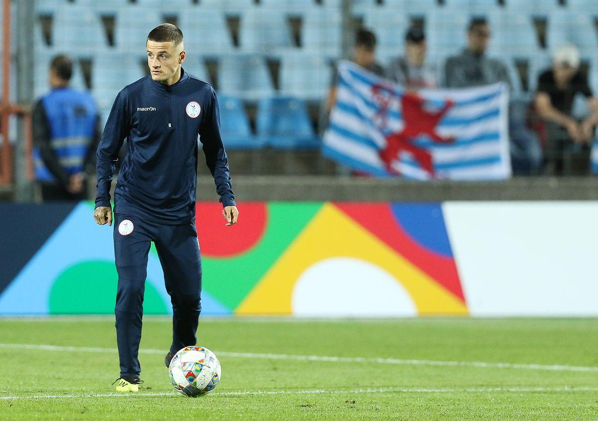 Vincent Thill dürfte gegen San Marino von Beginn an spielen.