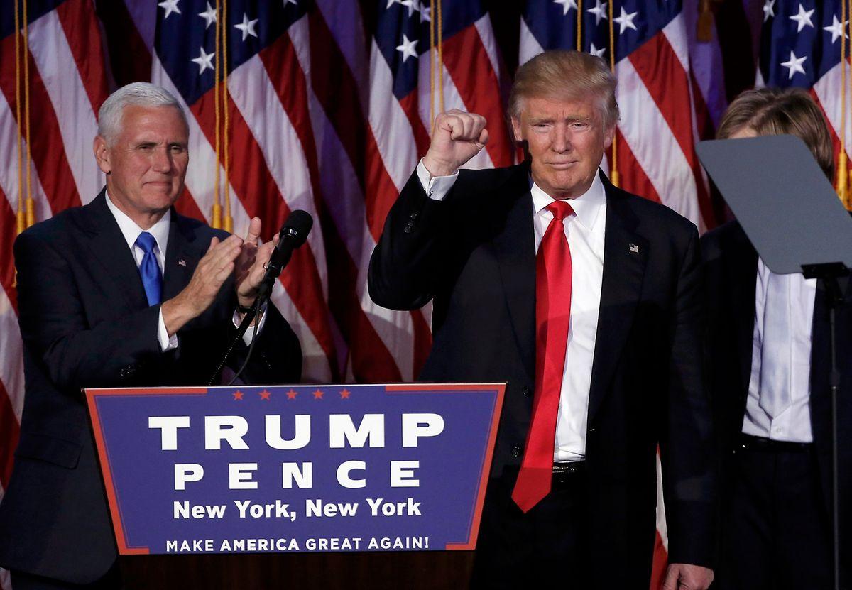 Dass Mike Pence (l.) Vize-Präsident unter Donald Trump werden soll, ist so gut wie sicher.
