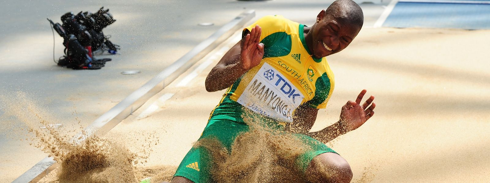 Luvo Manyonga wollte sich in Tokio eigentlich seinen ganz großen Traum vom Olympiasieg erfüllen.