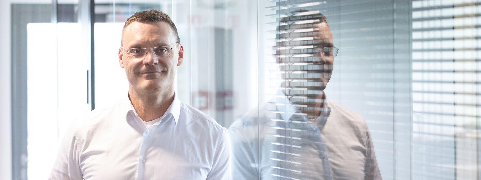 Le directeur général de Luxair, Gilles Feith, continue à carburer à la positivité