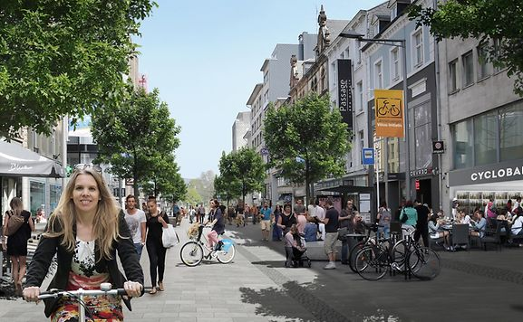 Luxemburger wort imagine luxembourg city without cars - Magasin avenue de la gare luxembourg ...
